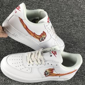 amazon air force1 low retro ghost fire 823512 100
